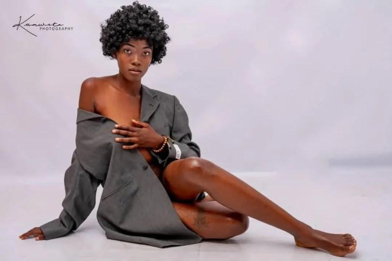 Candy Kambole whose style is heart-melting.