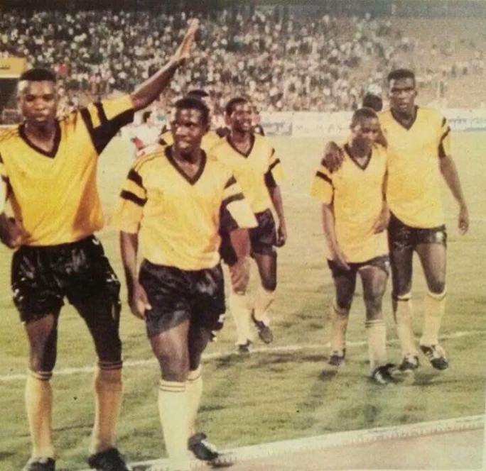 An outstanding performance by Zambia on the night and the players could afford walking back with a smile