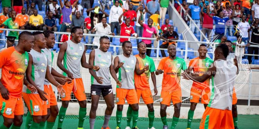 Zesco United celebration