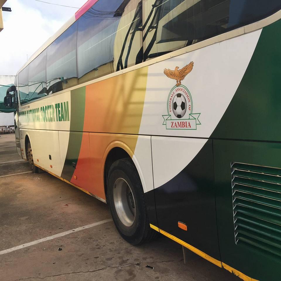 FAZ rebrands FIFA 2010 Bus