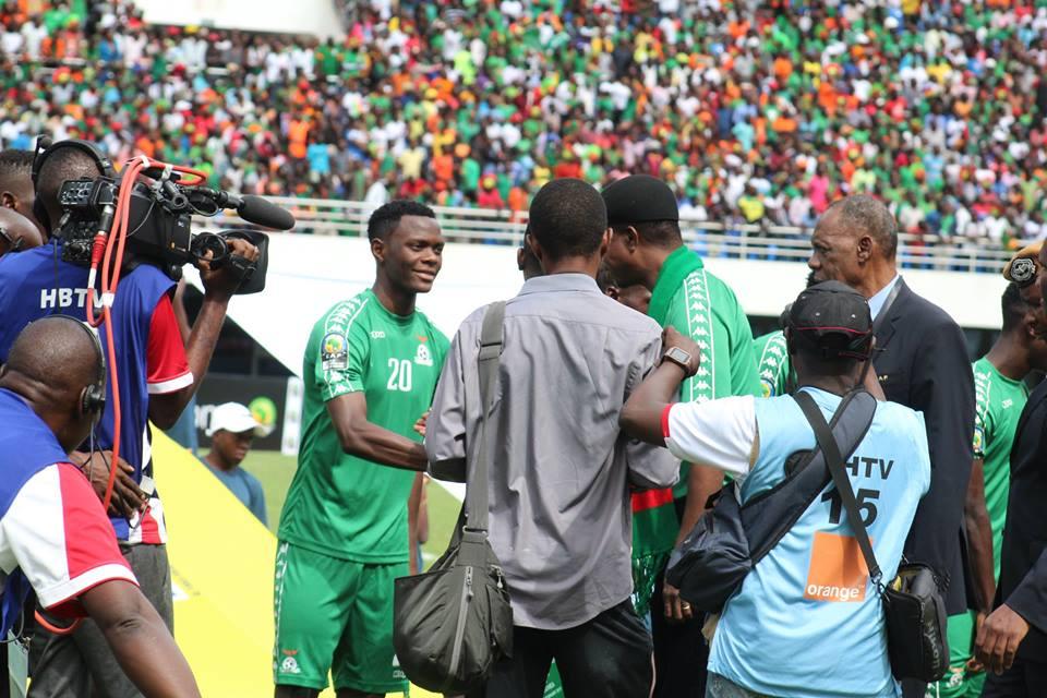 Chambeshi singles out goalie Banda in Guinea victory