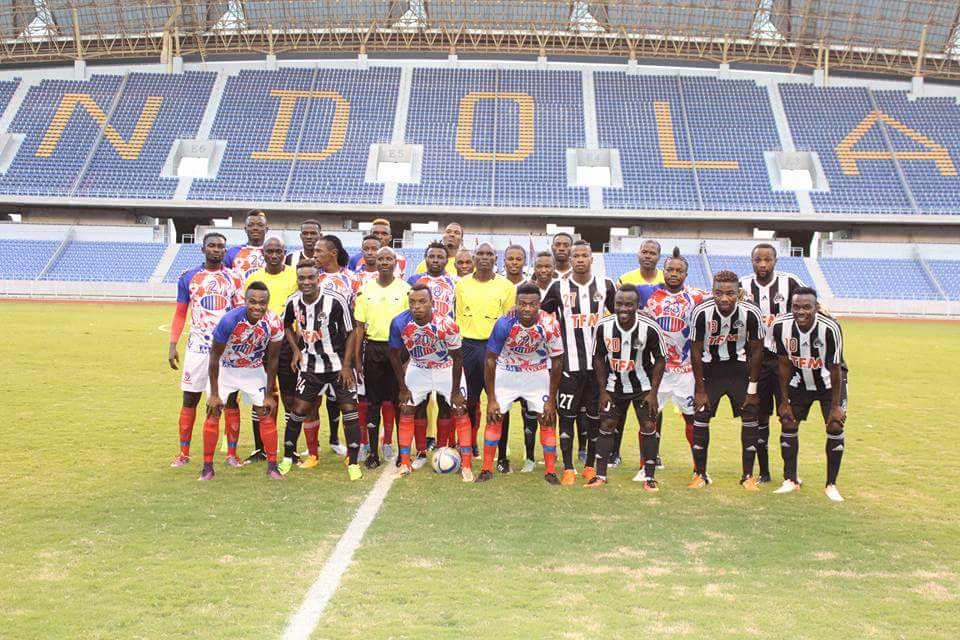 Foreign star studded Buildcon hold TP Mazembe in int'l friendly