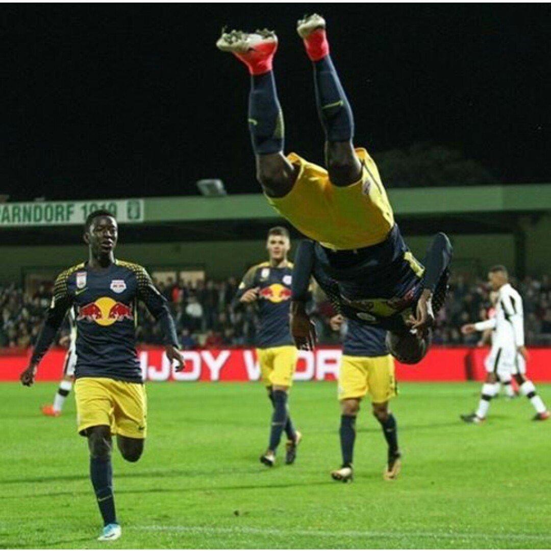 Daka 'honoured' to open Salzburg goal account