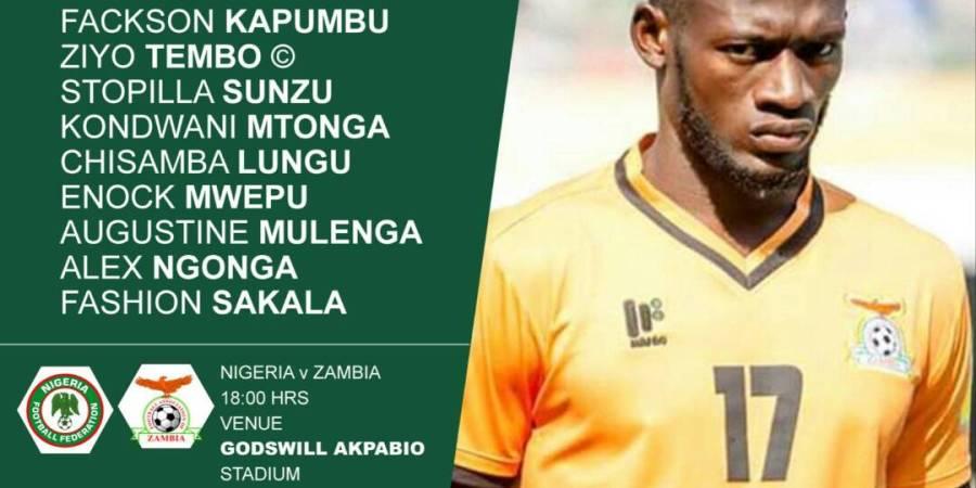 Nigeria 1 0 zambia as it happened zamfoot nigeria 1 0 zambia as it happened ccuart Choice Image