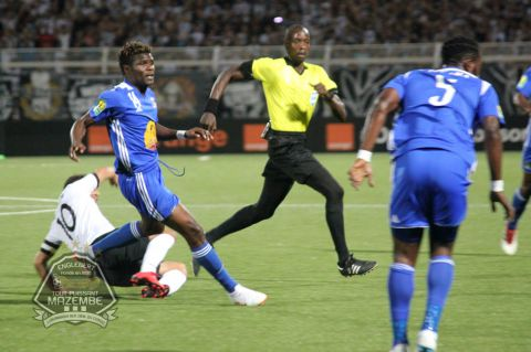 CAF CL: Kabaso Chongo earns Mazembe vital point in Algeria
