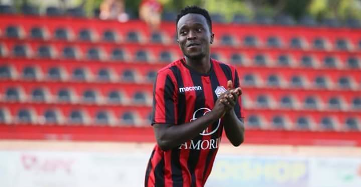 Dream debut excites Portuguese based Kenneth Kalunga