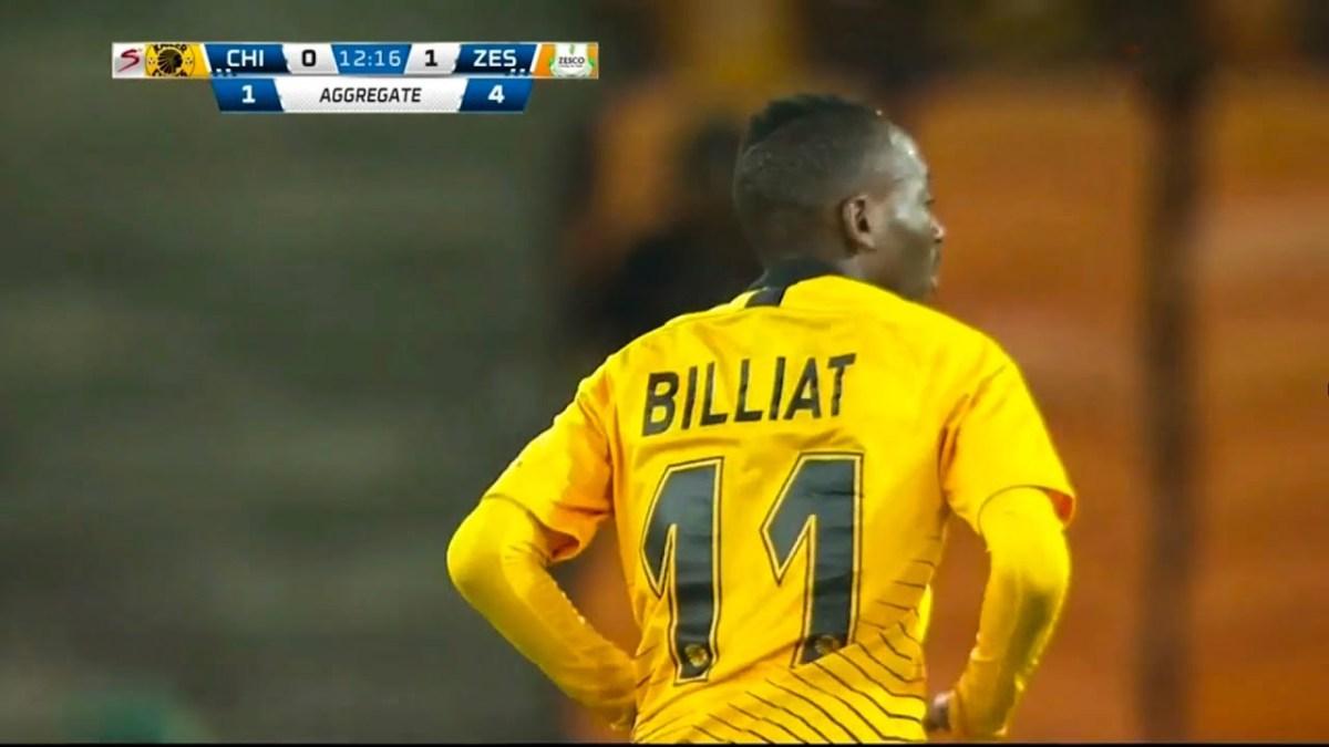 Kaizer Chiefs 1 - 2 Zesco United: Who won the Kalonda v Billiat battle?