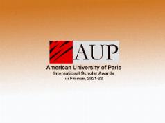 American University of Paris