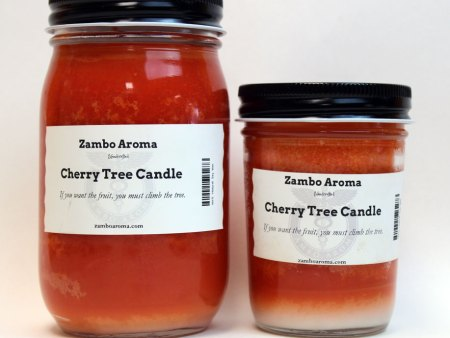 cheerry tree candle
