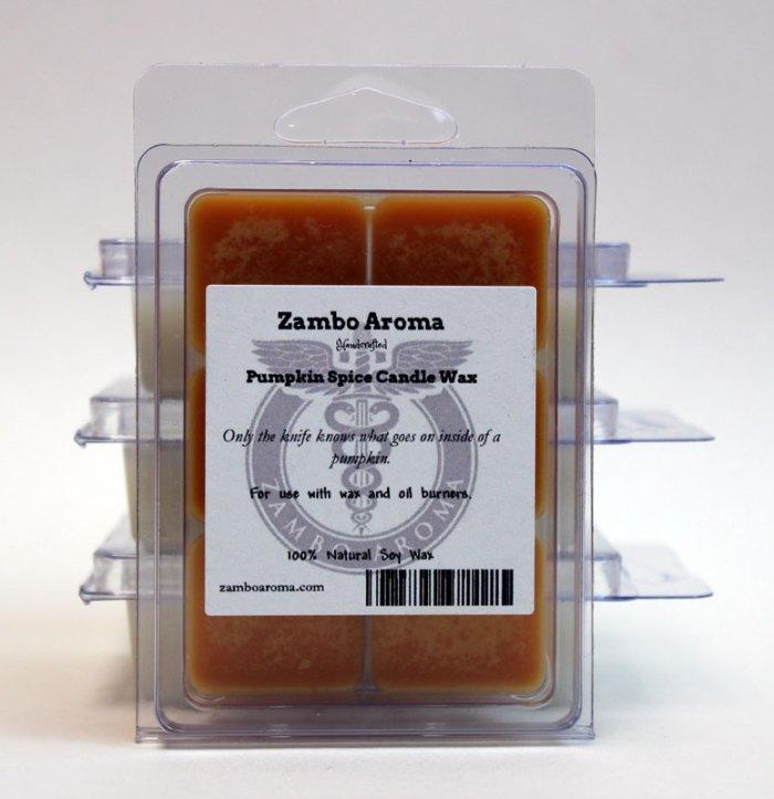 pumpkin spice wax