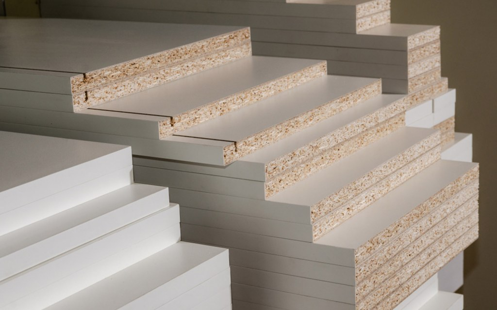 Lasani wood is made from wood fibres