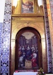 Evora Convent - church art