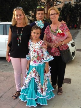 Flamenco - festival La Linea Spain