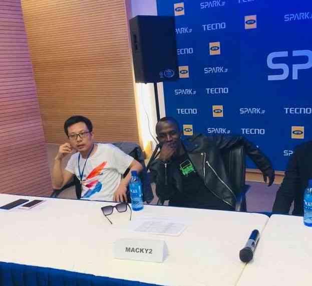 Macky2 Signed As New Tecno Mobile Brand Ambassador