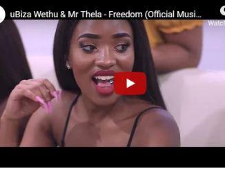 uBiza Wethu, Mr Thela, Freedom, Official Music Video, mp3, download, datafilehost, fakaza, Gqom Beats, Gqom Songs, Gqom Music, Gqom Mix, House Music, Video,