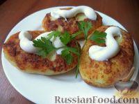 عکس به دستور غذا: سیب زمینی با گوشت مرغ
