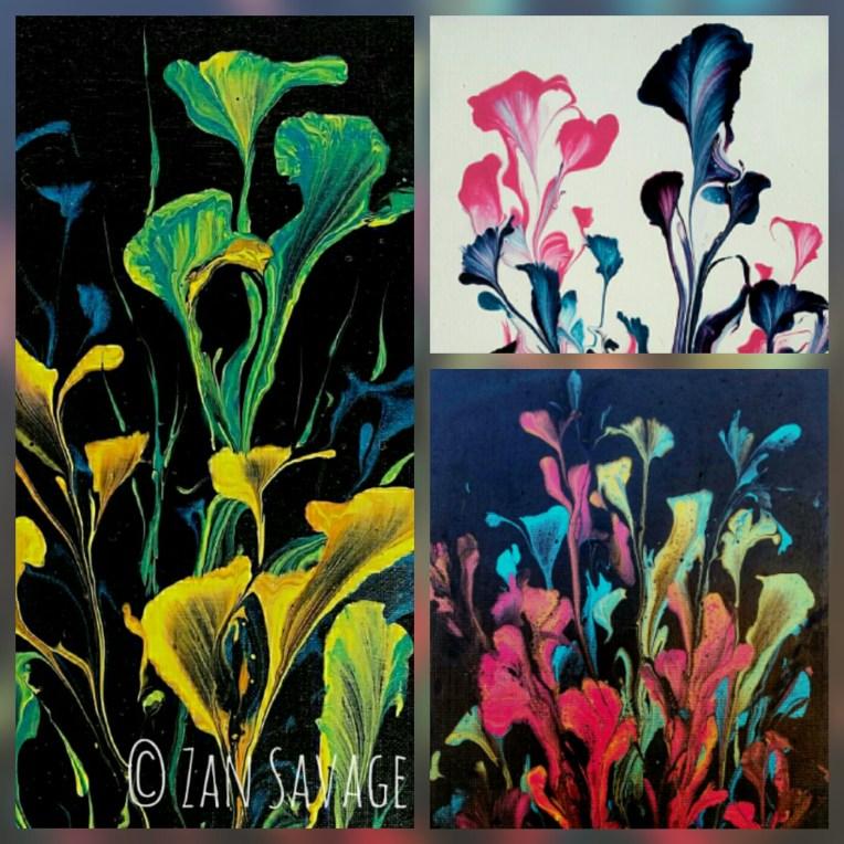 String Flow Collage - images copyright Suzan Savage