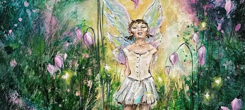 Acrylic Degas Fairy Little Dancer