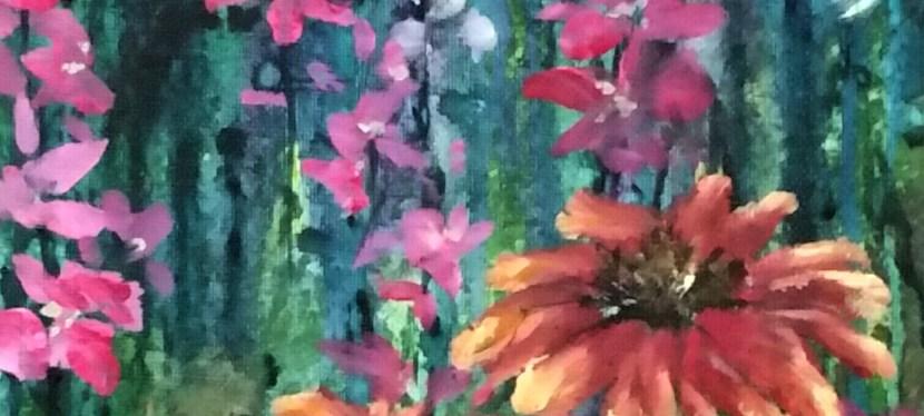 Acrylic Garden Medley