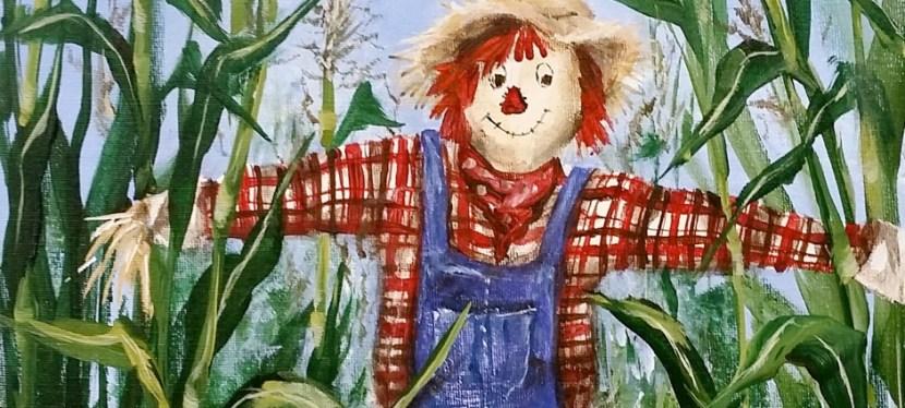 Acrylic Scarecrow