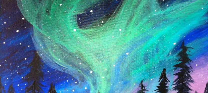 Acrylic Aurora Borealis