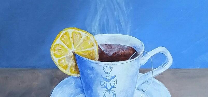 Acrylic Tea Time!