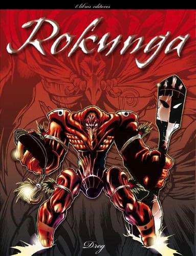 Portada Comics Rokunga Baja Resolucion