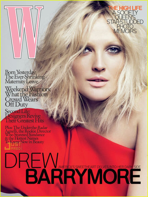 w-magazine-drew-barrymore