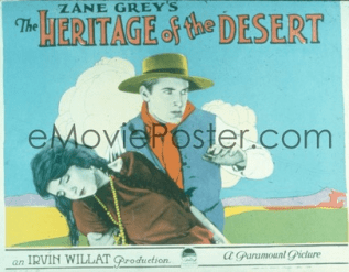 Heritage of the Desert: 1924 edition