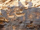 Rock art, Chevelon Canyon;  Credit: Spirit Eagle: Arizona