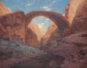 William Robinson Leigh (1866-1955) Rainbow Bridge, Utah