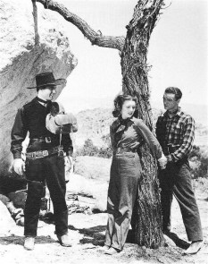 Still with George Montgomery Lynne Roberts and James Gillette