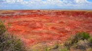 The Painted Desert, Petrified Forest National Park;  Credit: Lsaldivar, 20th July 2011