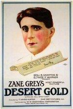 1919 Desert Gold Poster