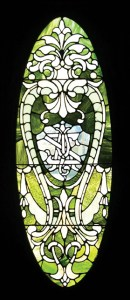 Interior-Front door glass