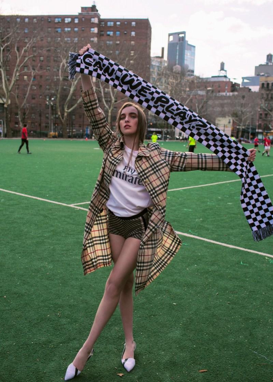 soccer football fashion burberry