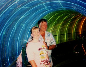 a later trip back to Epcot, 1986