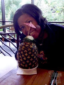 Dannee with her lapu lapu