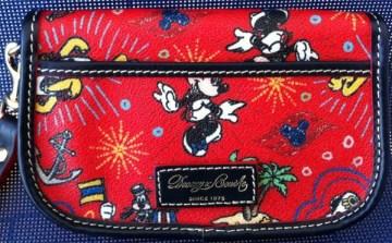 Disney Cruise Line Dooney Bourke wristlet