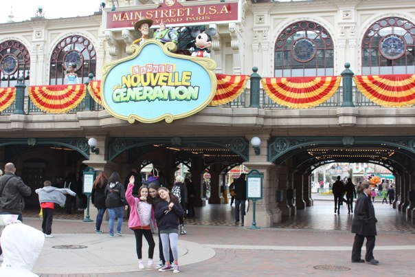 Disneyland Paris Main Street USA