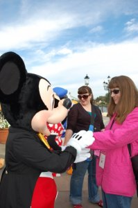 Allison V and Mickey