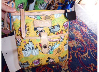 Disney Dooney and Bourke Yellow Letter Carrier