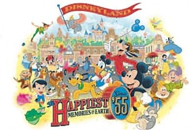 Disneyland 55th Anniversary