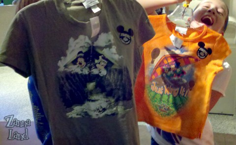 scented soarin shirts in epcot