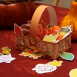 Disney Chip and Dale Thanksgiving basket