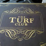 Turf Club Menu