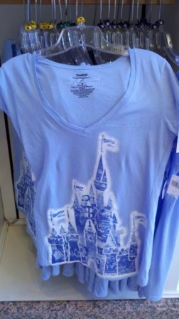 40th Ladies Castle t-shirt