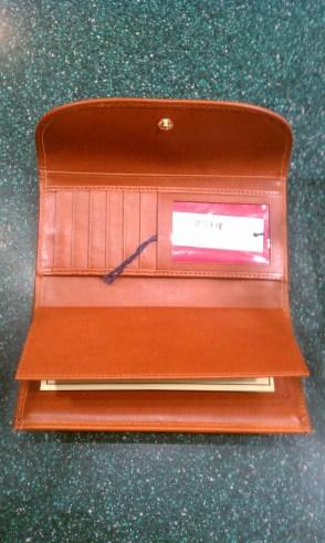 Disney WDW 40th Anniversary Dooney wallet inside