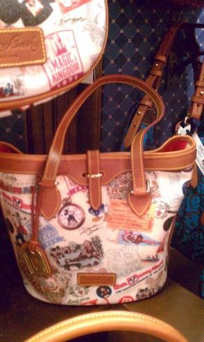 WDW 40th Anniversary Dooney & Bourke small bucket bag