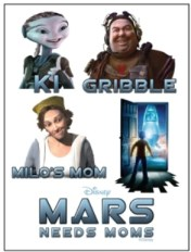 Mars Needs Moms tattoos